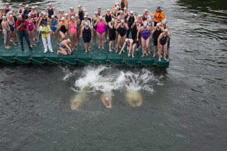 Liffey swim