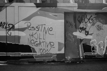 Possitive kill negative... Whatever 'possitive ' is...
