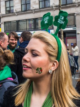 Kiss me, I'm Irish