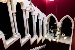 Moorish stairway - Kilkenny castle