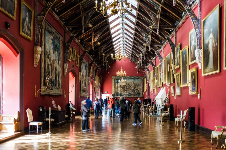 Kilkenny castle: Picture Gallery