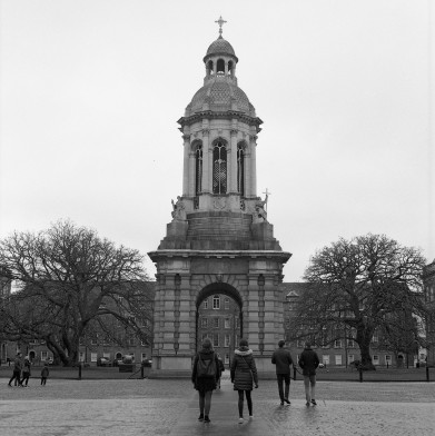 Bell tower, Trinity college. Zenza Bronica SQ-A