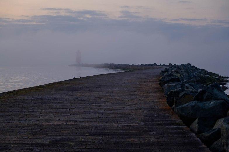 Mist vanishing